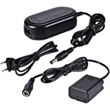 Andoer AC-PW20 AC Power Supply NP-FW50 Dummy Battery Adapter Camera Charger for Sony a7 a7ii a7s a7r a7sii a7rii a6500 a6300