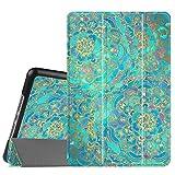 Fintie SlimShell Hülle für iPad Mini 4 - Ultradünn Superleicht Smart Stand Schutzhülle Cover Case mit Auto Schlaf/Wach Funktion, Jade
