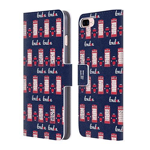 Head Case Designs Typographie De Drapeau Londres La Mieux Étui Coque De Livre En Cuir Pour Apple iPhone 5c Cabine Téléphonique Et Taxi