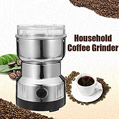 Skymore 150W Electric Coffee Grinder,For Coffee Bean Nut Spice Grinder ,Stainless Steel Blades APP 100g Capacity by Chenmmaniang
