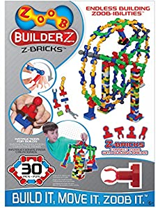 Zoob - Z-Ladrillos 30 (Juratoys 0Z15030TL) , Modelos/colores Surtidos, 1 Unidad