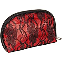 Borsa In Pizzo Make Up Blue Banana (Nero/Rosso)