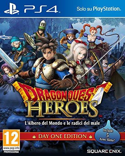 Dragon Quest Heroes Albero del Mondo e Le Radici del Male Day One Edition PlayStation 4