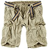 Surplus Herren Cargo Shorts Summer, beige, L