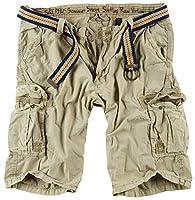 fb28d837969cd3 Surplus - Pantaloni cargo estivi da uomo Beige L