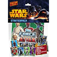 Topps to90799–Clone Wars–Force Attax Serie 5Trading Card Starter Pack