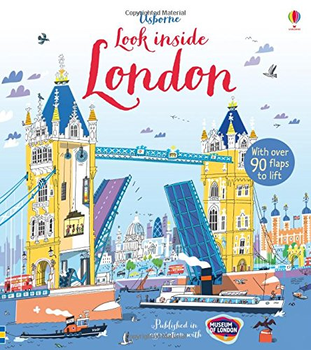 Look Inside London (Look Inside Board Books)