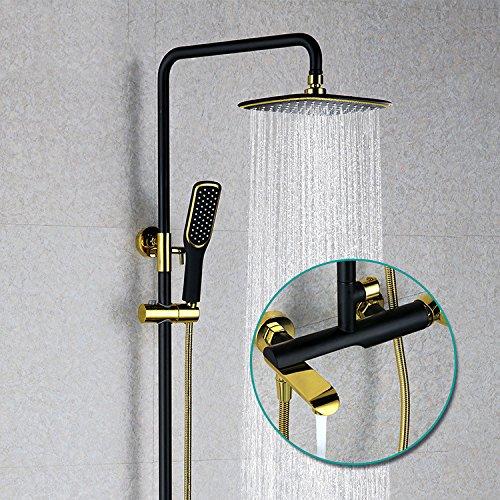 dusche kupfer schwarzes gold dusche anzug wall wall chrome hell - dusche große dusche voller kupfer dusche anzug -
