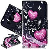 SmartLegend Etui Coque pour Samsung Galaxy Ace 4 SM-G357FZ Pochette Protection PU...