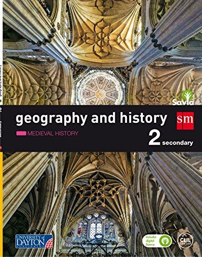 Geography and history 2 Secondary Savia: Castilla y León, Asturias, Baleares y Aragón
