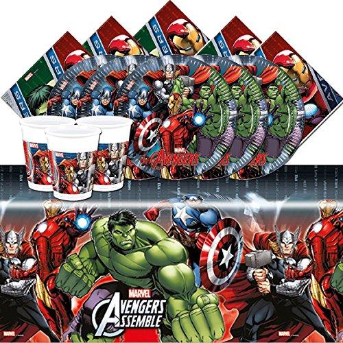 Marvel bpwfa-100Vengadores mesa juego para 16