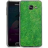 Samsung Galaxy A3 (2016) Housse Étui Protection Coque Herbe Pelouse Brins d'herbe
