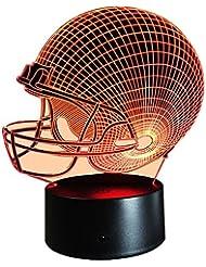 InnoWill Football Américain Casque Lumière Cadeau 7Colors