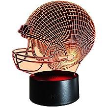 InnoWill LED Lamp Fútbol americano Casco Regalo