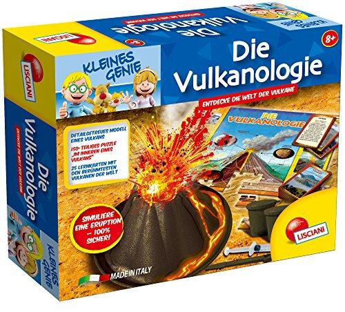 Lisciani 52615-La vulcanología, Juego