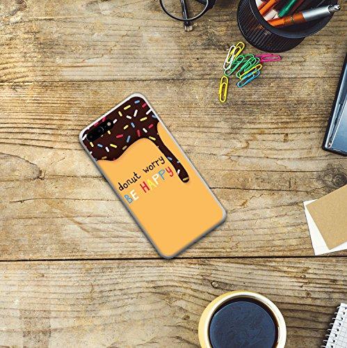 iPhone 7 Plus Hülle, WoowCase Handyhülle Silikon für [ iPhone 7 Plus ] Astronaut Herz - I Love To the Moon And Back Handytasche Handy Cover Case Schutzhülle Flexible TPU - Transparent Housse Gel iPhone 7 Plus Transparent D0560