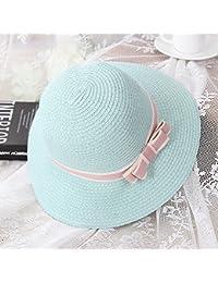 Hat Sombrero de paja hembra vacaciones verano protector solar sombrero de playa  ocio sombrero salvaje moda 9ade17937f5