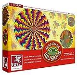 Toy Kraft Mandala Jigsaw Kaleidoscope, M...