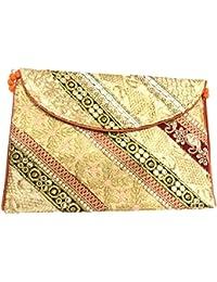 Shubhangi Women's Sling Bag (Jaipuri Embroidered Handicraft Traditional Sling Bags,ZARI GOTA WORK,Multi-Coloured...