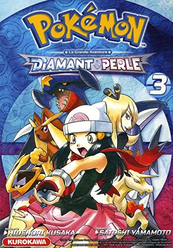 Pokémon - Diamant et Perle / Platine - tome 03 (3) par Satoshi YAMAMOTO