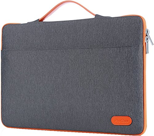 "ProCase 13-13.5 Zoll Hülsenkoffer Cover für MacBook Pro 2016 / Pro mit Retina/MacBook Air/Surface Book, Ultrabook Laptop Tasche für 13"" 13.3\"" Lenovo Dell Toshiba HP ASUS Acer Chromebook -Dunkel Grau"