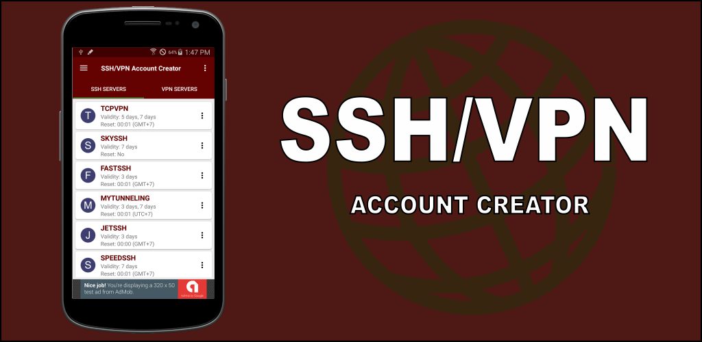 Ssh Vpn Account Creator Amazon De Apps For Android
