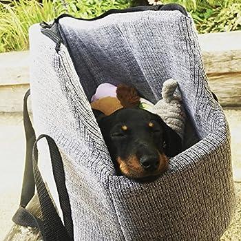 Me & My Pets Sac de transport pour chien ou chat lavable en machine Gris Taille M