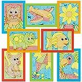 Galt 3604408.0 Mosaici, 4500 Tesserine Adesive Multicolore