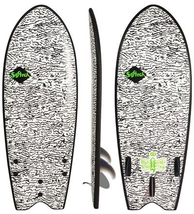 Softech Surfboard Kyuss Fish FCS II 4.8 Surfboard