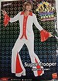 Smiffys 70er Jahre Kostüm Disco Tänzer rot Gr. M - L, Größe:L