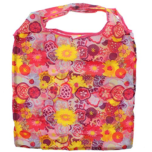 Shopping Bag Di Alter Ego In Zac S / Tracolla Borsa Da Taschino Attaccabile Stampa Floreale Multicolore