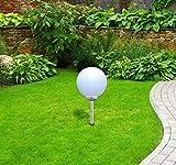 LED Solar-Kugelleuchte Marla mit Erdspieß, Durchmesser 20cm, Kugelleuchte Dekolampe