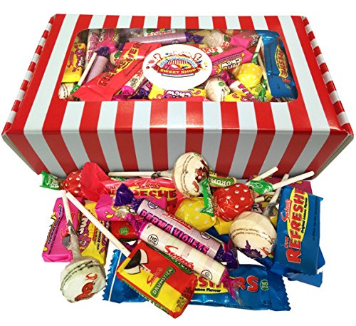 Wrapped Retro Sweets Selection Gift Box, 1.1 kg