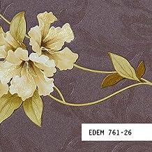 MUESTRA de papel pintado EDEM serie 761 | diseño floral con relieve, 761-XX:S-761-26