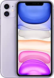 Apple iPhone 11 with FaceTime - 128GB, 4G LTE, Purple - International Version