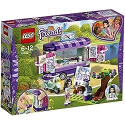Lego Friends Stand Dell'Arte di Emma, 41332