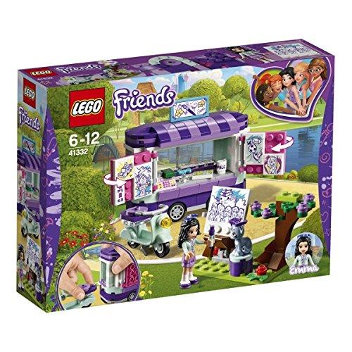 LEGO Friends Puesto de Arte de Emma, única (41332)