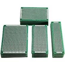 40 Stk Verdoppeln Doppelseitige Schaltung Verzinnt Lochrasterplatine PCB Board