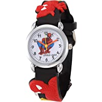CLOUDWOOD Spiderman Analogue Multicolour Dial Boy's and Girl's Wrist Watch