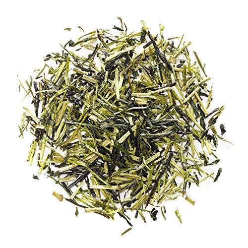 Kukicha Thé Vert Brindilles Japon - de haute gamme (Karigané) - Thé vert japonais en vrac de grande qualité – Originaire du Japon – Pauvre en caféine – Délicatement mélangé avec des feuilles de Sencha