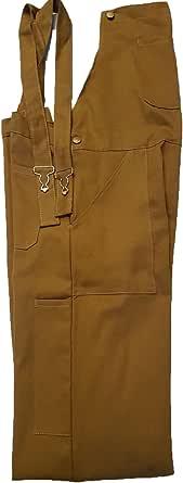 WSC Workwear Bib and Brace Dungarees (Khaki)