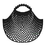 Einkaufsnetz kult schwarz - SuperNetz - DeDeRon - Made in Germany