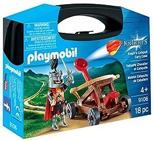 Playmobil- Maletín Catapulta de Caballero, única (9106)