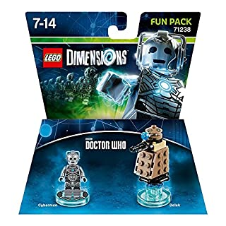 Figurine 'Lego Dimensions' - Cyberman - Doctor Who : Fun Pack (B0119SE9XU) | Amazon Products