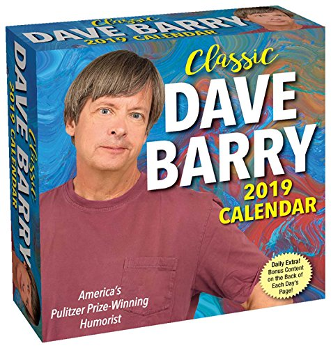 Classic Dave Barry 2019 Day-To-Day Calendar - Desktop-kalender-easel