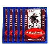 MQ Patch Anti-Douleur Chauffant Soulager Douleur Musculaire Lombaire Dos Traitement Arthrite Rhumatisme Périarthrite en Baume Chinois Traditionnel à Base de Plantes