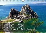Olchon - Insel im Baikalsee (Wandkalender 2019 DIN A4 quer): Im östlichen Sibirien liegt der tiefste Süßwassersee der Erde: der Baikal. Mittendrin ... (Monatskalender, 14 Seiten ) (CALVENDO Orte)