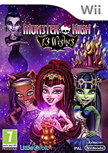 Monster High 13 Wishes (Nintendo Wii)