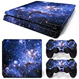 Mcbazel Pattern Series Decals Vinyl Haut Aufkleber für PS4 Slim (Galaxy V2)