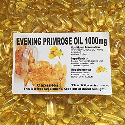 The Vitamin Evening Primrose Oil 1000mg (240 Capsules - Bagged) by The Vitamin